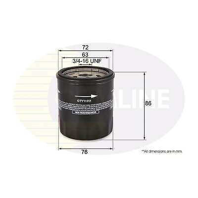 89mm Long Comline Oil Filter Genuine OE Quality Service Replacement Part