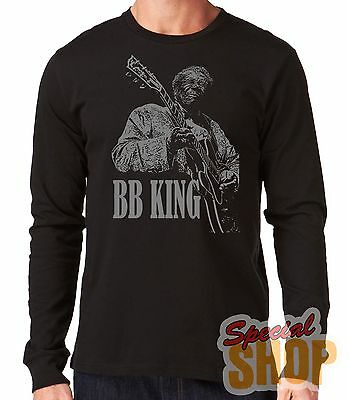 "Camiseta Manga Larga""bb King- Blues""t-Shirt Long Sleeve"