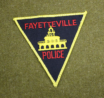 30455) Patch Fayetteville North Carolina Police Department Sheriff Law Enforce