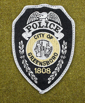 30459) Patch Greensboro North Carolina Police Department Sheriff Law Enforcement