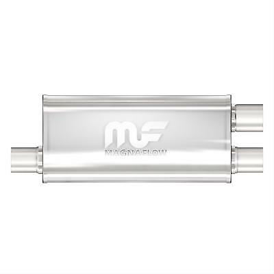 """MagnaFlow Performance Muffler 3"""" Off In 2.5"""" Off Out"""