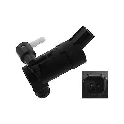 Variant1 Twin Outlet Febi Windscreen Window Washer Pump Genuine Replacement