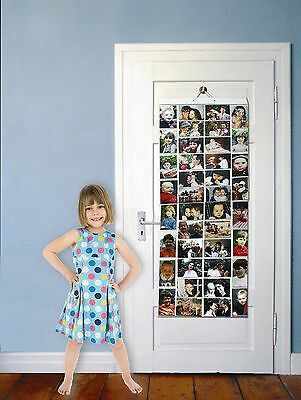 Picture Pockets - Mega (Size AA) Photo Pockets Wall Hanging Photo Gallery.