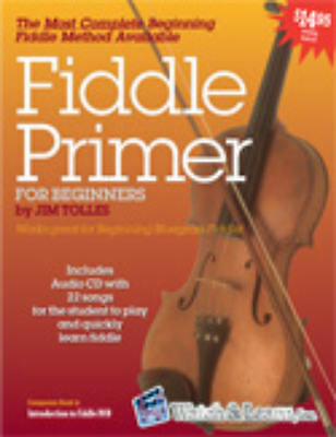 Watch & Learn Fiddle Primer Book With Audio Cd