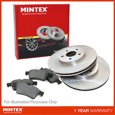 NEW MINTEX FRONT BRAKE DISCS AND PADS SET MDK0150 FREE NEXT DAY DELIVERY