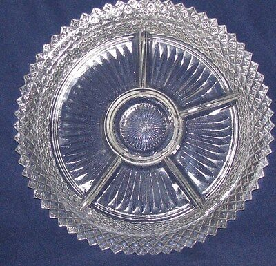 Miss America Crystal   5 Part Relish  11 3/4""