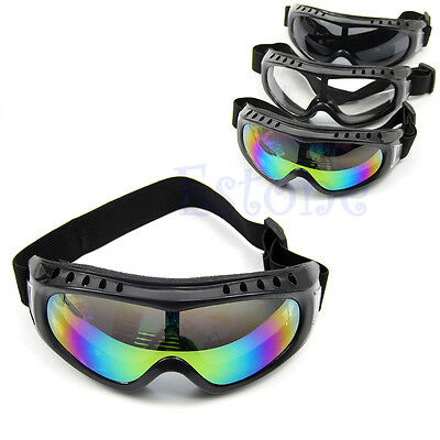 Outdoor Sport Skiing Goggles Dustproof Sunglass Coated Safety Eye Glasses New