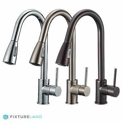 """16"""" Pull Down Kitchen & Bar Sink Faucet - One Hole / Handle"""