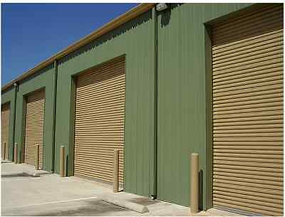 12x12 DBCI Commercial 2250 Series Insulated RollUp Door w/Hardware & Chain Hoist