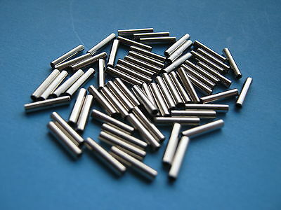 100 X Crimp Sleeves 2.2Mm Inner Dia, Wire Trace Rigs For Pike, Sea Fishing