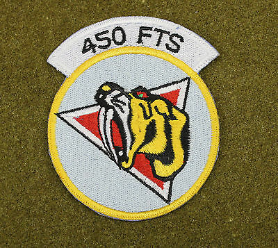30707) Military Patch USAF 450th FTS Flying Training Squadron Air Force Insignia