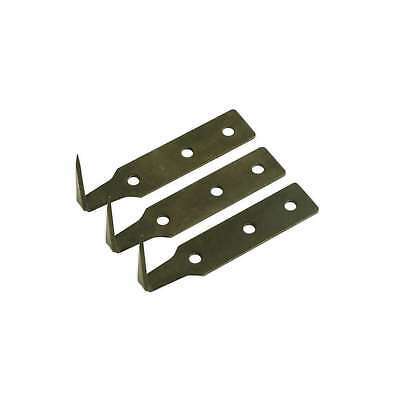Sealey Windscreen Removal Tool Blade 38mm Pack of 3 Windscreen Tools WK02003