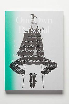 Encens ONE OWN PERSONAL BOOK #1 Hardback 2014 Tamy Glauser DRIES VAN NOTEN @New