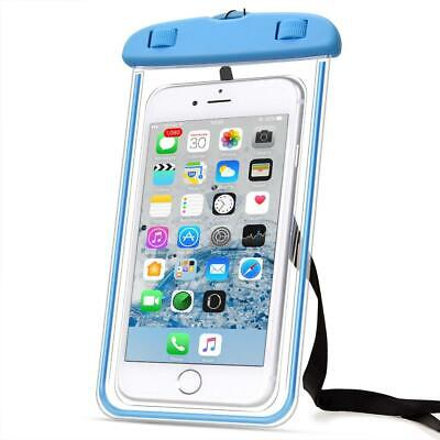 Waterproof Durable Pouch Bag Protector Case Cover for Cell Phone iPhone Galaxy