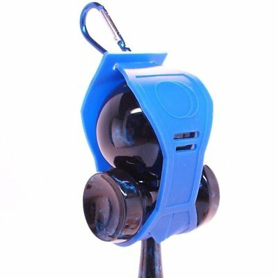 Blue Silicone Kendama Holder With Clip