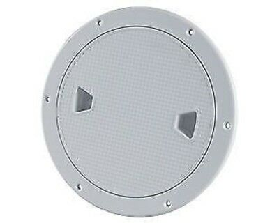 """8"""" SEAFLO Marine Screw Out Deck Plate Inspection Hatch Plastic Access Boat RV"""