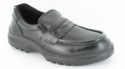 Unisex  Totectors Safety Shoes Black Leather Uppers Style 3993