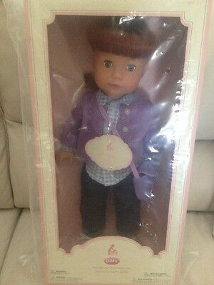 Pottery Barn Kids Gotz Exclusive Design Doll Megan NEW IN BOX