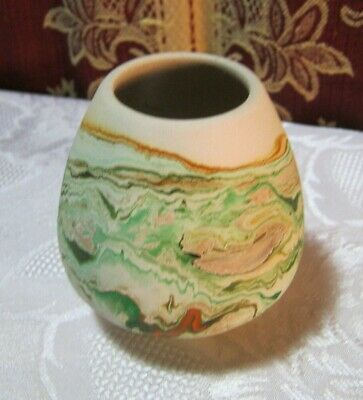 "Nemadji Small 3"" Pottery Usa  Vintage"