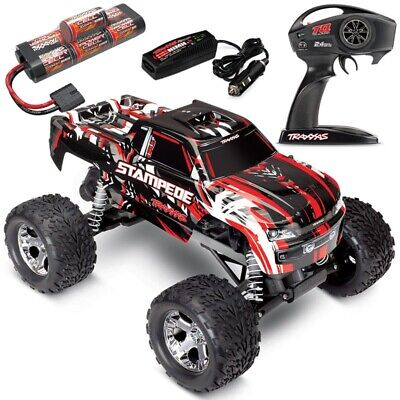 NEW Traxxas 36054-1 Stampede XL-5 2WD RTR RC Truck w/ID Battery & Quick Charger