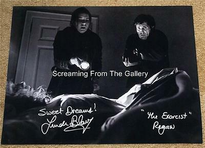 Linda Blair Hand Signed 11x14 The Exorcist autographed
