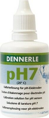 Dennerle pH Solution de calibrage 50 ml pH 7 NEUF & • EUR 22,16