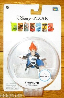 Disney Pixar Syndrome Figure Thinkway Toys The Incredibles Frozone Dash Edna