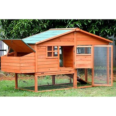 X-LARGE Chicken Coop , Rabbit Guinea Pig Hutch Ferret House