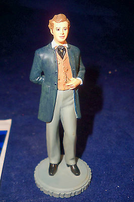 "franklin mint gone with the wind figure charles hamilton 3 3/4"" with paperwork"