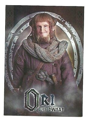 The Hobbit An Unexpected Journey Character Biography CB-10 Ori The Dwarf