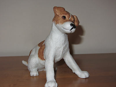 NEW Lenox Little Jack Russell Terrier fine porcelain figurine