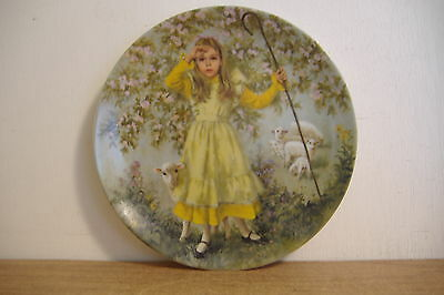 ~Little Bo Peep~Fifth Issue~Mother Goose By John Mcclelland Collector Plate