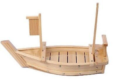 Large Wooden Sushi Boat Serving Plate 29.5 inch 75cm Long S-1584
