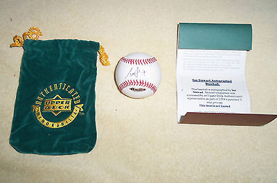 MLB : Ian Stewart autographed Baseball - Upper Deck Authenticated - Cubs, Angels