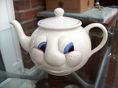 CARLTON WARE HAPPY FACE FUNNY FACE TEAPOT SPOOKS