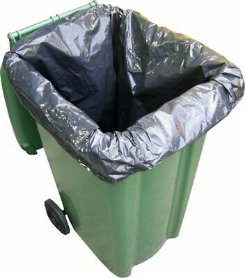 1,000 x Wheelie Bin Liners / Sacks / Refuse / Rubbish Bags