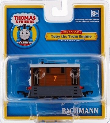Bachmann HO Scale Train Thomas & Friends Locomotives Toby the Tram Engine 58747