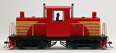 Bachmann On30 Scale Train Whitcomb 50-Ton Red & Yellow 29204