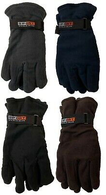 WHOLESALE LOT 12 Pairs Outdoor Sports Winter Fleece Thermal Insulation Gloves