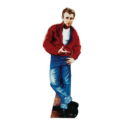 JAMES DEAN Rebel Without a Cause Lifesize CARDBOARD CUTOUT Standup Standee F/S