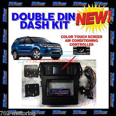 2011- 2014 Ford Explorer Dash Kit With Intergrated Hvac/swc Control Touch Screen