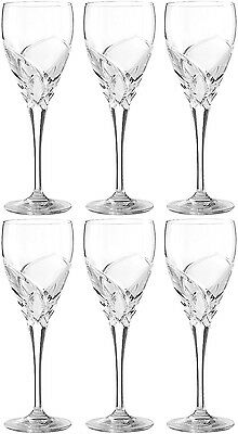 RCR CRYSTAL DA VINCI GROSSETO SMALL WINE GLASSES 17cl (SET OF 6) BRAND NEW