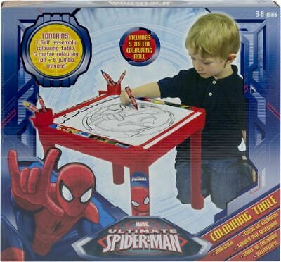 TV Film Cartoon Character Colouring Drawing Art Activity Table