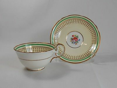 Royal Doulton Portrush-Green 7877 Cup(s) and Saucer(s)