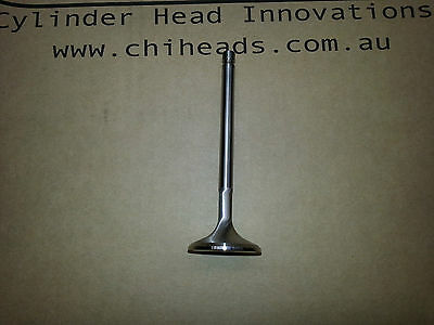 """CHI Exhaust valves Ford Cleveland oversize 1.650"""" set of 8"""