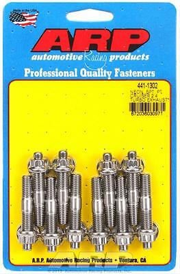 ARP Header Studs 12-Point Nuts Stainless Polished 8mmx1.25 Dodge 2.0L SRT-4Of10