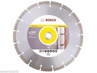 Bosch Pro Universal Standard Diamond blade 300mm with a bore of 20mm  2608602796