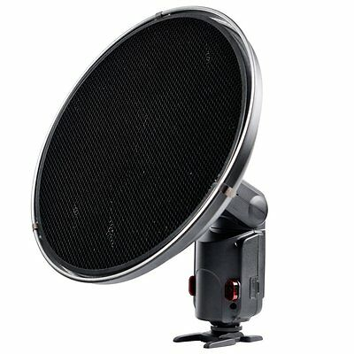 UK Godox Beauty Dish with Grid AD-S3 for WITSTRO AD-180 AD-360 Speedlite Flash