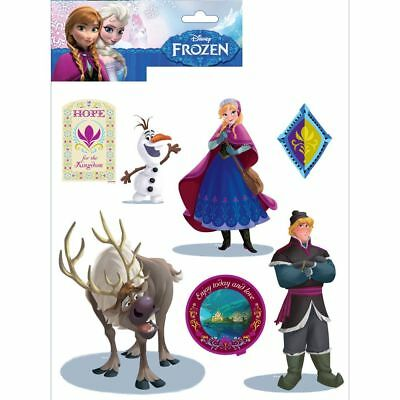 Disney Frozen Wall Stickers - 14 Pieces - New & Official