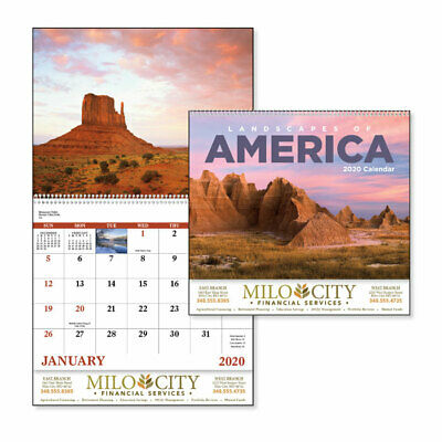 WALL CALENDARS - 150 quantity - Custom Printed with Your Logo
